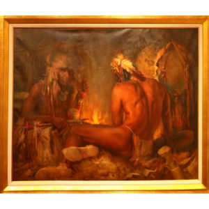 """Painting: """"The Oracle"""" By Buck McCain"""