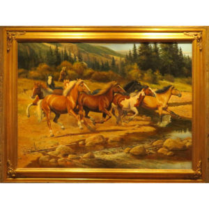 "Painting: ""Montana Wilds"" By Dan Deuter"