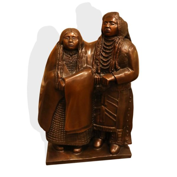 "Sculpture: ""Companions"" By Doug Hyde"