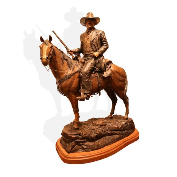 "Sculpture: ""American Legend, John Wayne"" By David Manuel"