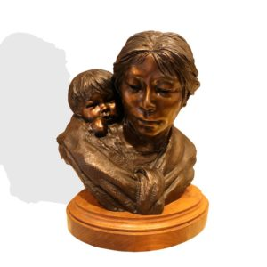"Sculpture: ""Nina"" By Glenda Goodacre"