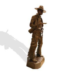 "Sculpture: ""The Survivor"" By Joe Beeler"