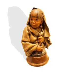 "Sculpture: ""Little Pueblo Girl"" By John Coleman"