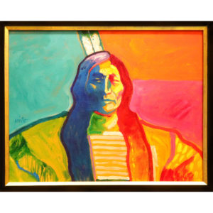 """Painting: """"Sioux"""" By John Nieto"""