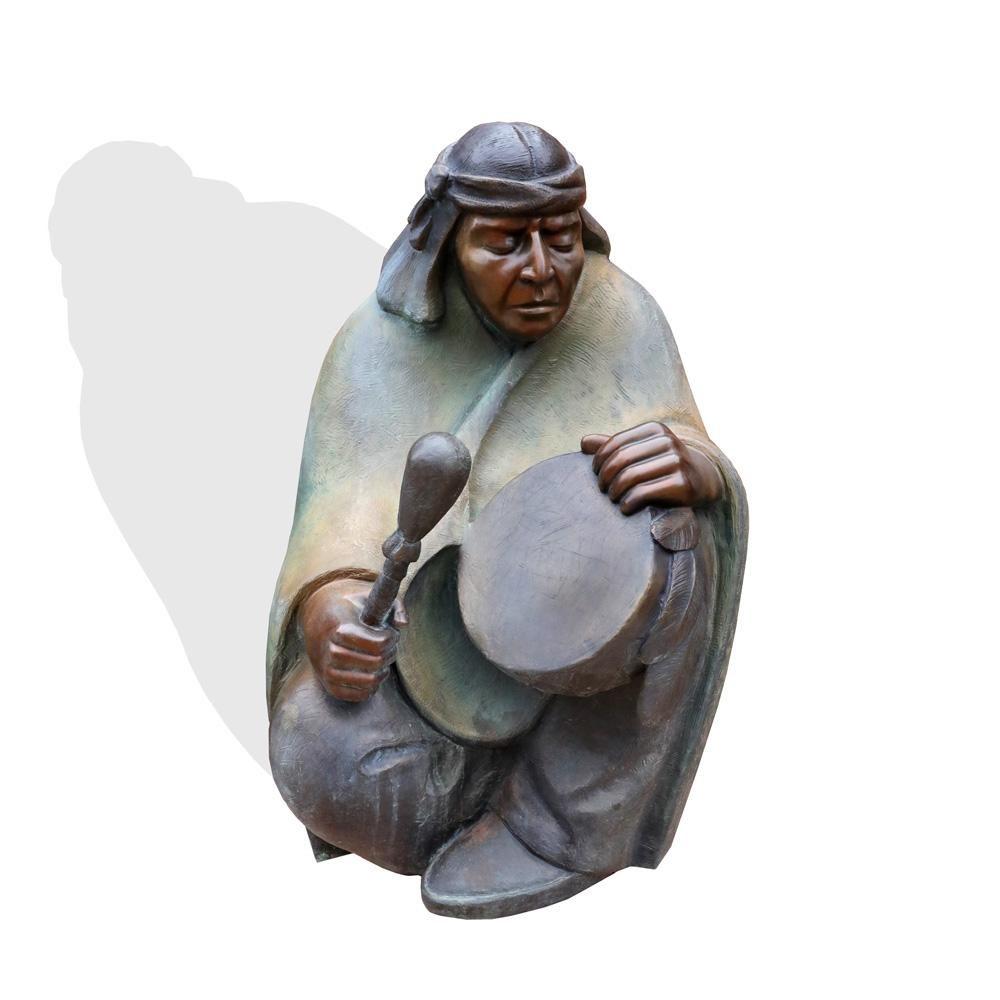 "Sculpture: ""The Drummer"" By Martha Pettigrew"