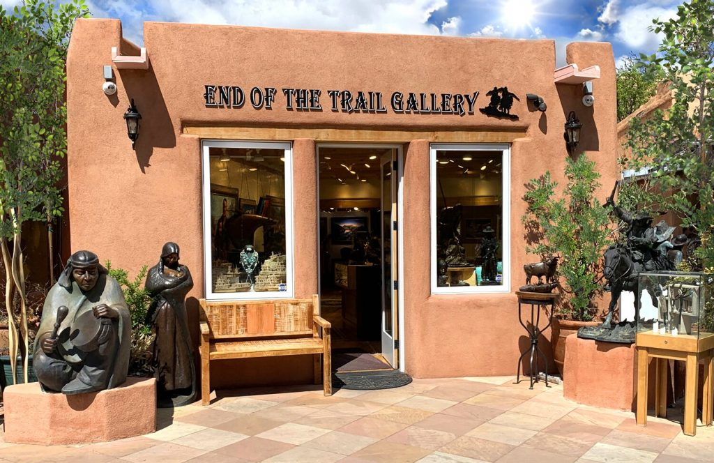 End of the Trail Gallery building